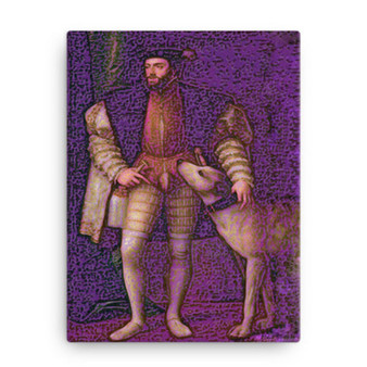 Titian | Henry V Print on Canvas