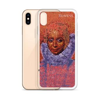 Clara serene Rubens neoclassical pop art iphone cases