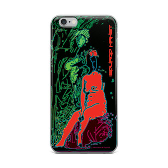 Red Green Eduard Manet Nude iPhone cases by Neoclassical Pop Art