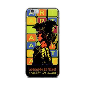 Neoclassical pop art Leonardo da vinci warrior creative iphon case  for sale online