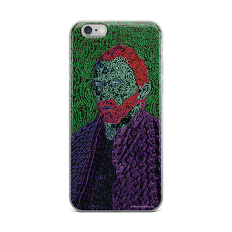 Shop Van Gogh Red Green Purple Neoclassical pop art iPhone case