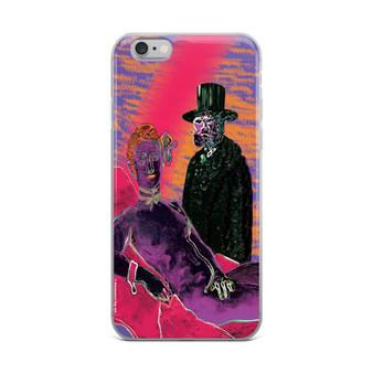 Eduard Manet Olympia miniature pop art print iPhone case