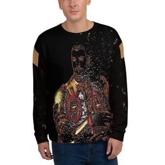 buy online Bronzino Duke of Tuscany Unisex Sweatshirt by neoclassical pop art