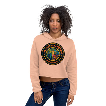 on sale Spiritual I know What Must Be Done Crop Hoodie by neoclassical pop art online store