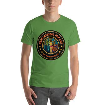 on sale Leonardo da vinci know what Short-Sleeve Unisex T-Shirt by neoclassical pop art pop art brand