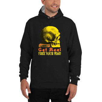 On Sale Da Vinci Free Your Mind Champion Hoodie by Neoclassical Pop Art