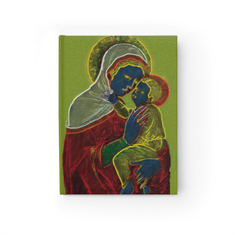 Duccio Early Madonna Blank Journal by Neoclassical Pop Art