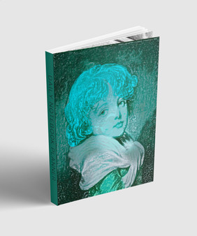 """Undated Day Planner by BWM collection. Collectible Greuze """"emerald"""" Cover art."""