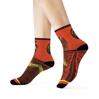 on sale Collectible Eduard Manet mojo man portrait kawaii art socks by Neoclassical Pop Art online brand store