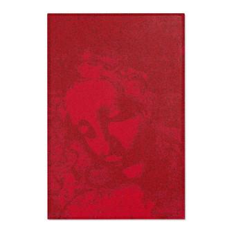 On Sale Leonardo Da Vinci La Scapigliata Red  Area Rugs by Neoclassical Pop Art