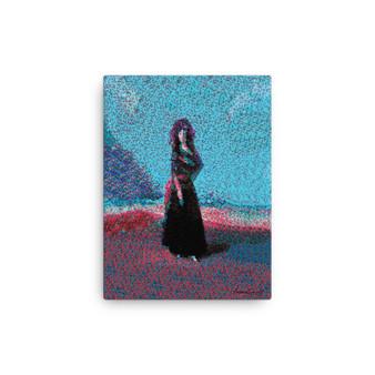 Goya   Blue Pink Canvas