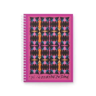 Da Vinci | Alexanfer the Great Pink Spiral Notebook
