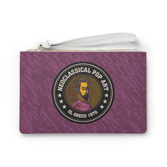 Shop for Collectible El Greco Portrait of a Poet Clutch Bag by Neoclassical Pop Art