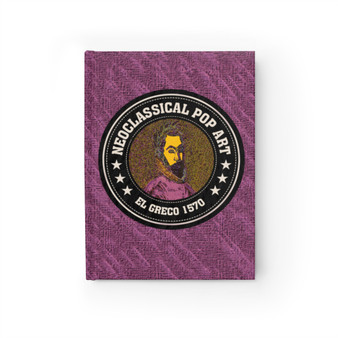 El Greco Portrait of a Poet Journal - Ruled Line by Neoclassical Pop Art