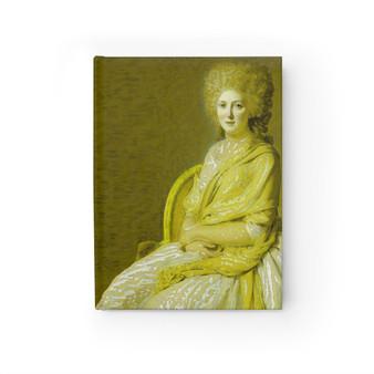 On Sale David Countess Portrait Blank Journal by Neoclassical Pop Art