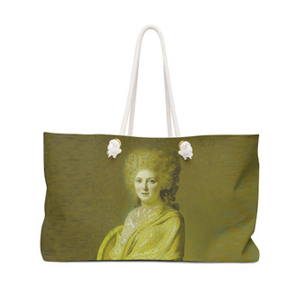 On Sale  Portrait of Anne Marie  Collectible Weekender Bag by Neoclassical Pop Art