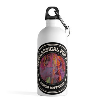 On Sale Botticelli Birth of Venus Stainless Steel Water Bottle by Neoclassical Pop Art