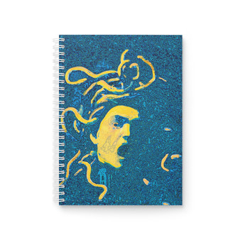 On Sale Caravaggio Medusa Spiral Notebook by Neoclassical Pop Art