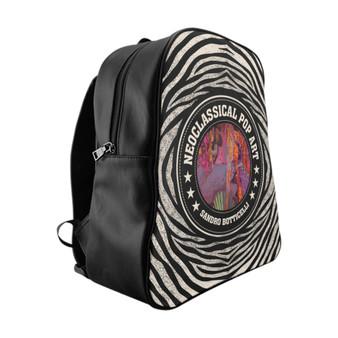 On Sale Botticelli Birth of Venus School Backpack by Neoclassical Pop Art