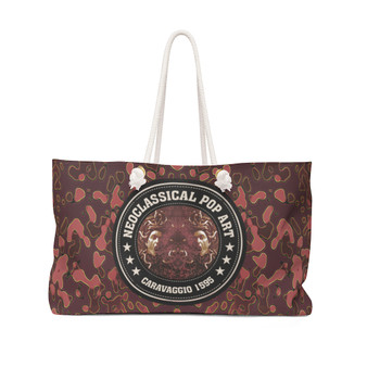 On Sale Collectible  Caravaggio Medusa Weekender Bag by Neoclassical Pop Art