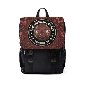On Salew Caravaggio Unisex Casual Shoulder Backpack by Neoclassical Pop Art