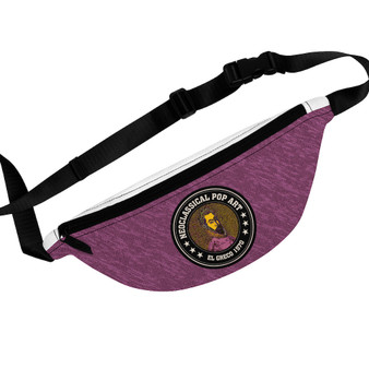 Shop for El Greco Portrait a Poet  Fanny Pack by Neoclassical Pop Art