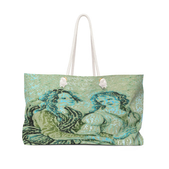 On Sale Sandro Botticelli Collectible Weekender Bag  by Neoclassical Pop Art