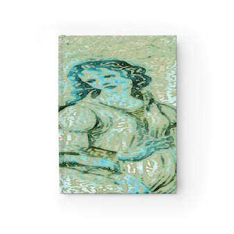 On Sale Botticelli Grace  Blank Journal  by Neoclassical Pop Art