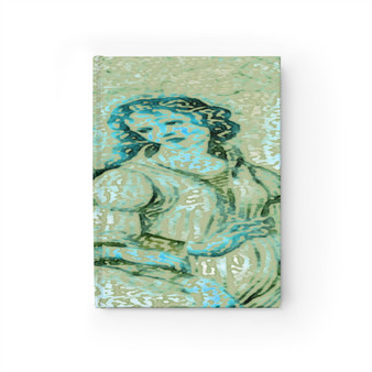 On Sale Botticelli  Hard Cover Grace Journal - Ruled Line by Neoclassical Pop Art