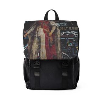 Van Dyck  King Henry Portrait Unisex Casual Shoulder Backpack by Neoclassical Pop Art