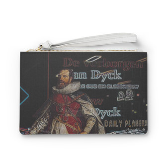Shop for Van Dyck | King Henry Clutch Bag  by Neoclassical Pop Art