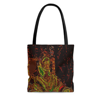On Sale Caravaggio Pope Pop Tote Bag by Neoclassical Pop Art