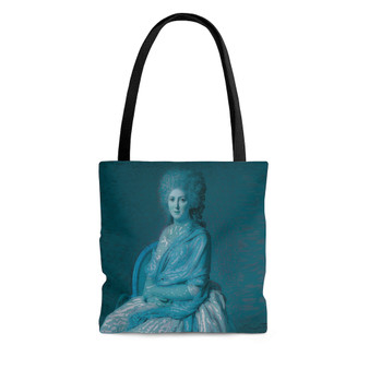On Sale Portrait of Anne Marie Louise Blue Tote Bag by Neoclassical Pop Art