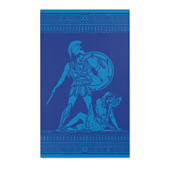 On Sale Greek Classical Ancient  Art Blue Area Rugs by Neoclassical Pop Art