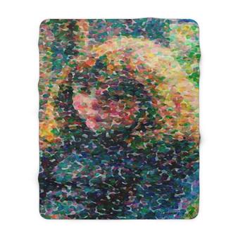 On Sale Pissarro Paul-Emile Sherpa Fleece Blanket by Neoclassical Pop Art