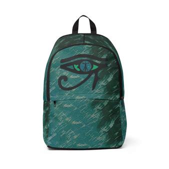 On Sale Da Vinci  Eye of the Art Unisex Fabric Backpack by Neoclassical Pop Art