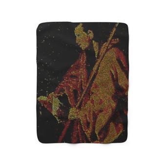 On Sale Velazquez Saint Thomas Sherpa Fleece Blanket by Neoclassical Pop Art