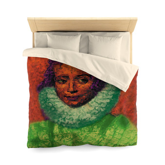 On sale collectible Rembrandt Clara Serena Duvet Cover by Neoclassical Pop Art