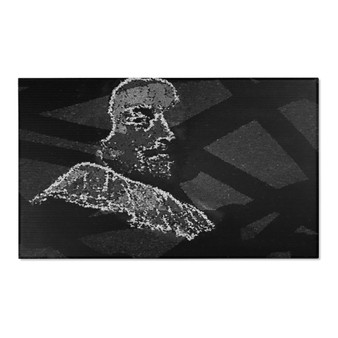 On Sale Portrait in Black and white Area Rugs by Neoclassical Pop Art