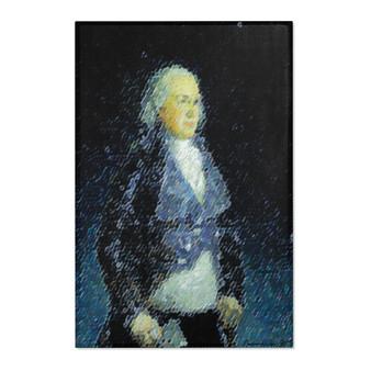 Goya Duke of Osuna Portrait Blue White Area Rugs