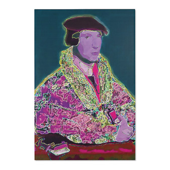 On Sale  Hans Hobelin Younger's Portrait Area Rugs by Neoclassical Pop Art