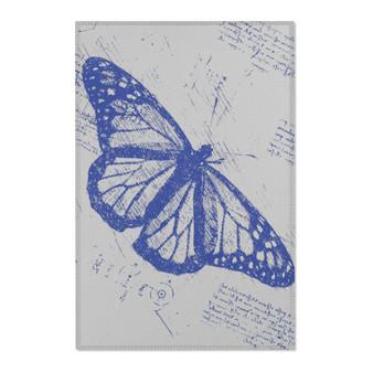On Sale Leonardo Da Vinci Butterfly Area Rugs by Neoclassical Pop Art