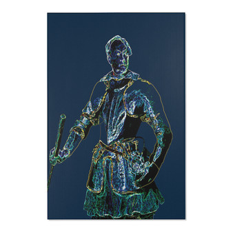 Shop for Van Dyck Warrior Area Rugs by Neoclassical Pop Art