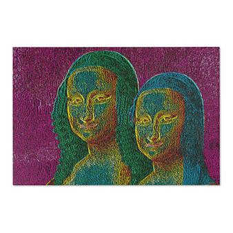 Shop for Da Vinci Mona Lisa Area Rugs by Neoclassical Pop Art