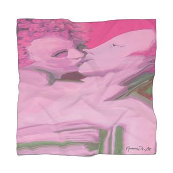 On Sale Bronzino  Venus Cupid Poly Scarf by Neoclassical Pop Art
