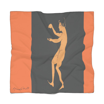 On Greek Ancient Art Poly Scarf by Neoclassical Pop Art