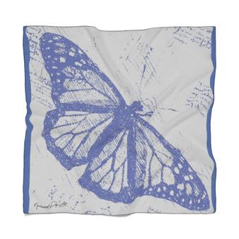Da Vinci   Butterfly Poly Scarf