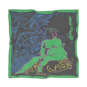 On Sale Manet Nude Woman Poly Scarf by Neoclassical pop art