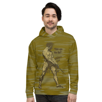 On Sale The Unknown Artist Nude Unisex Hoodie  by Neoclassical Pop Art