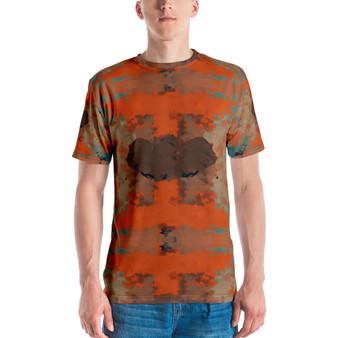 On Sale Paul Gauguin Caribbean Sunflowers Men's T-shirt by Neoclassical Pop Art